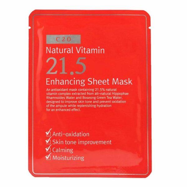 c20-natural-vitamin-215-enhancing-sheet-mask-23-g